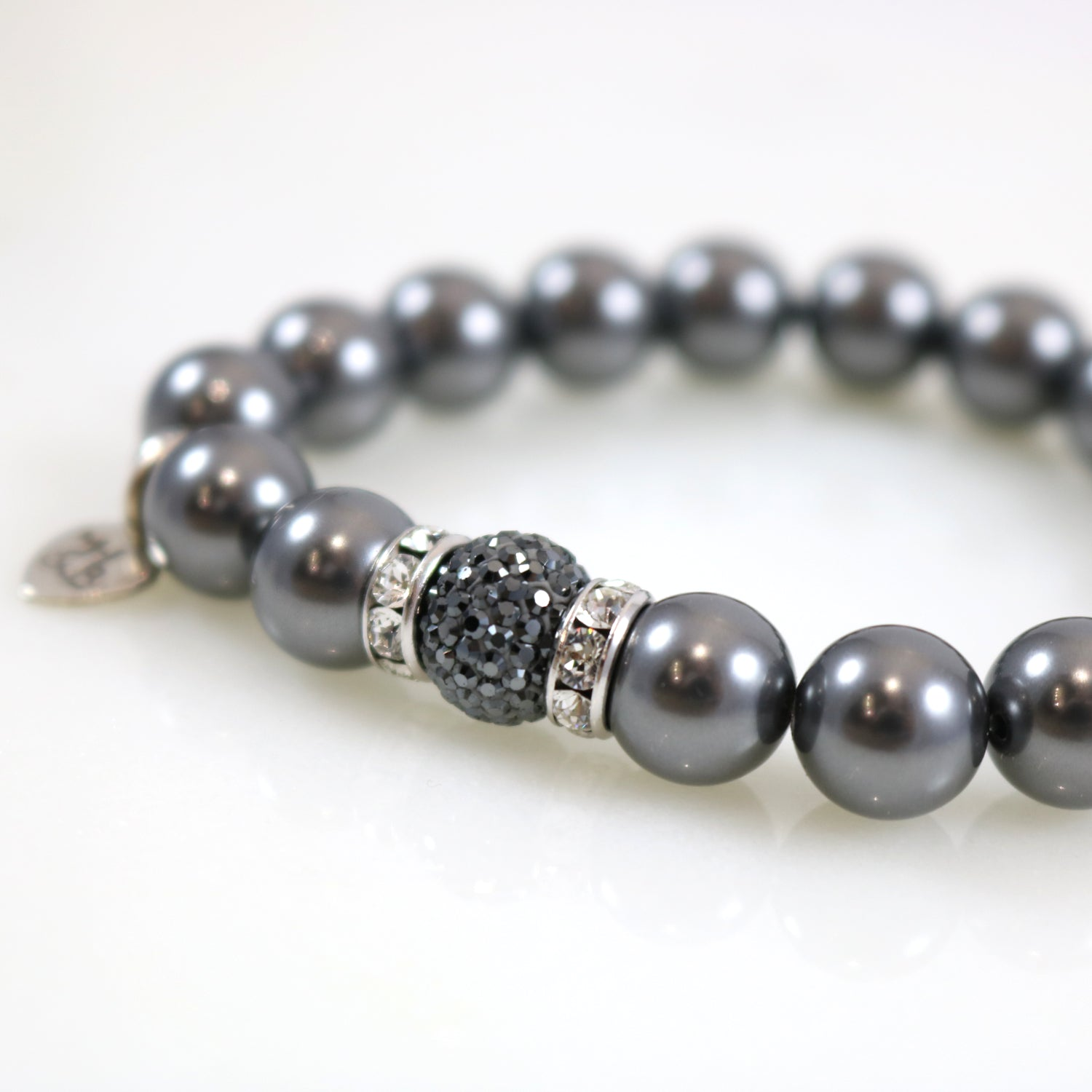 Sparkle Pearl Stretch Bracelet