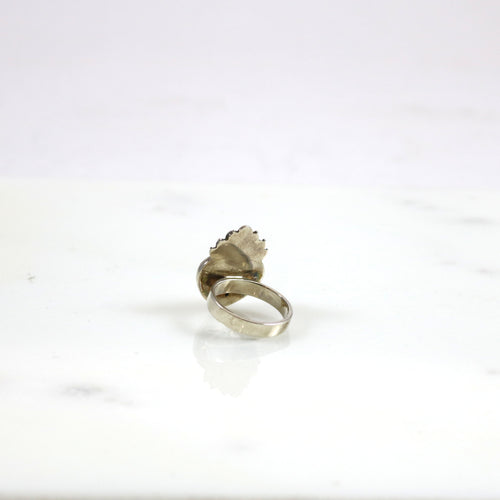 Crown Heart Signature Ring