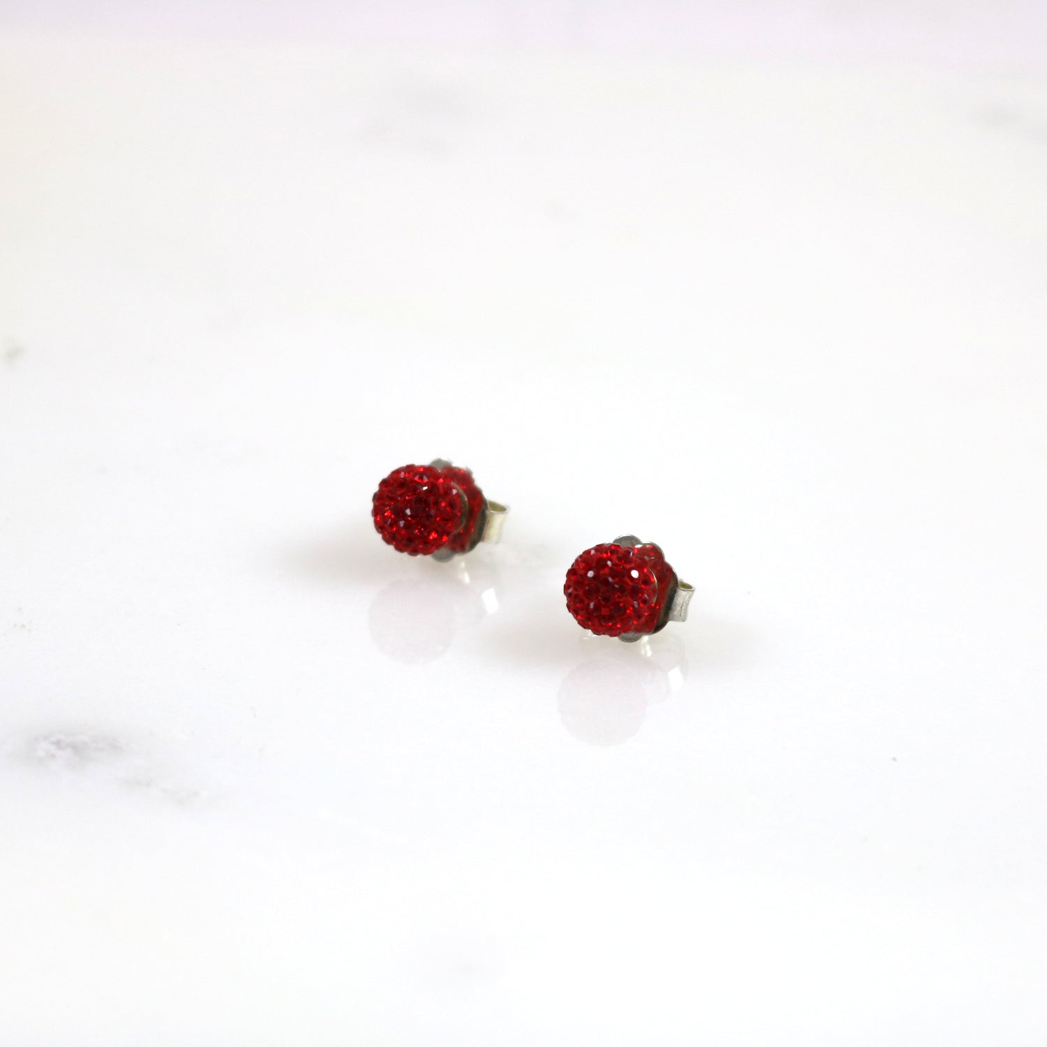 8mm Stud Earrings