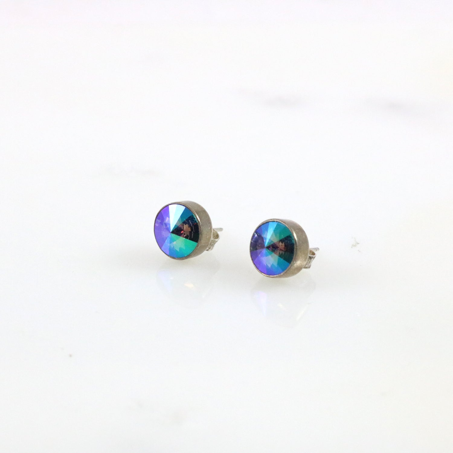 Everleigh Midnight Aura Studs