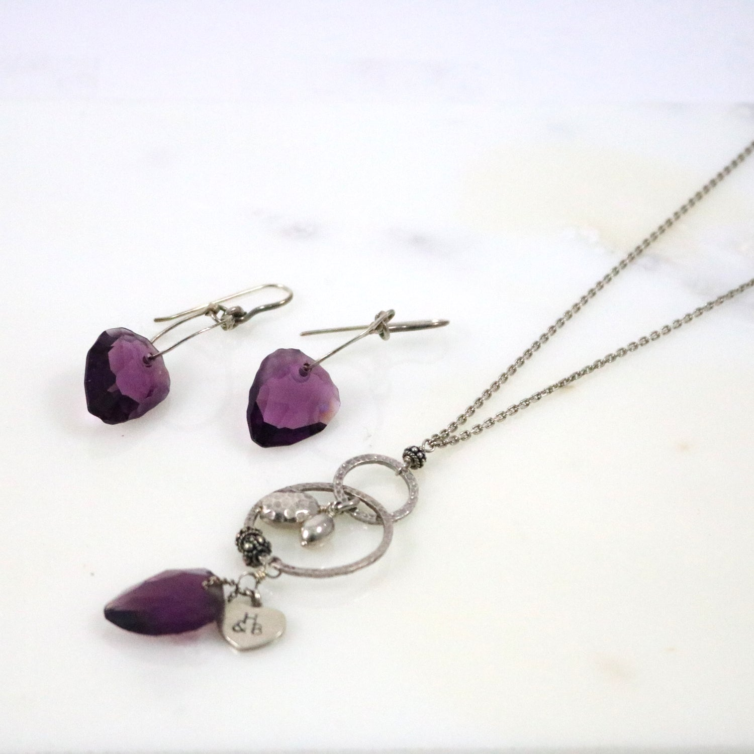 Crystal Set Necklace/Earrings