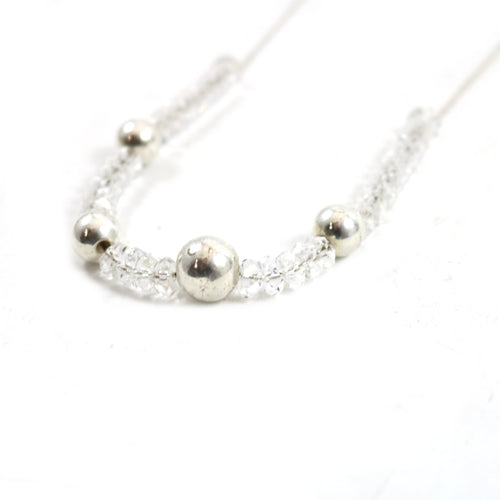 Crystal Lariat Necklace