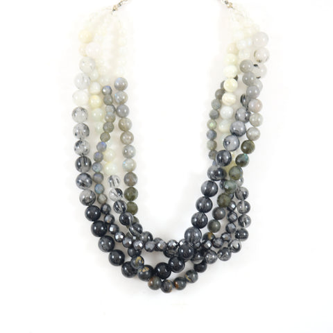 Citrin Statement Necklace