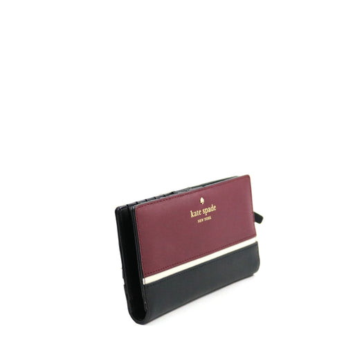 Contrast Stripe Wallet