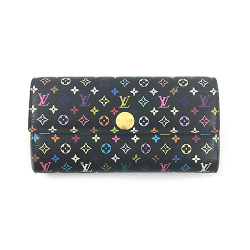 Multicolor Sarah Wallet Black Grenade Wallet