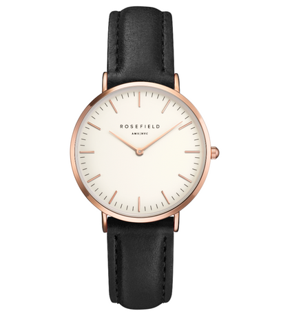 White & Rose Gold Watch