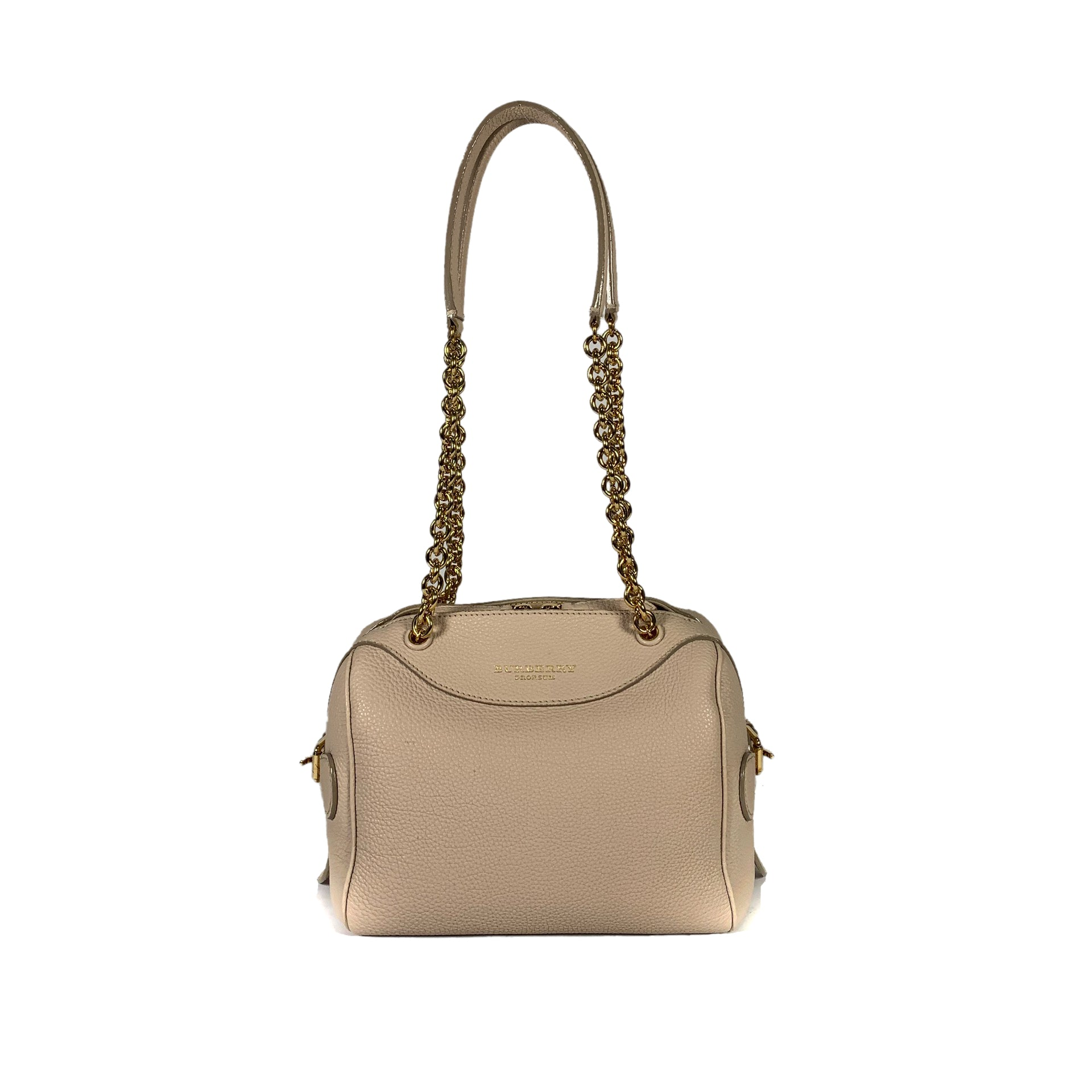 Calf Skin Leather Shoulder Bag