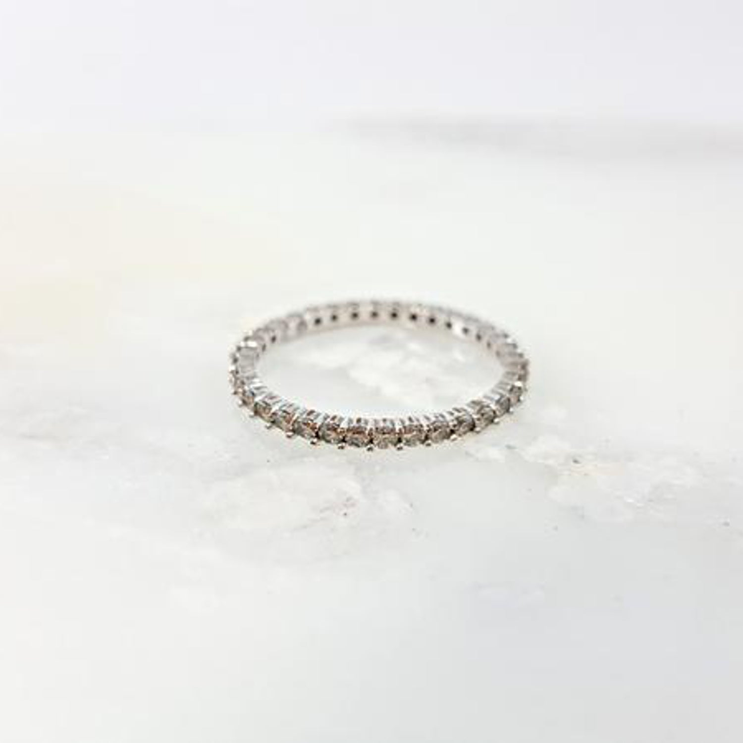 Vittore Rhodium Ring