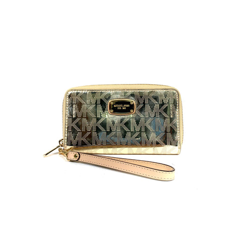 Haymarket Check Henley Wallet with Chain