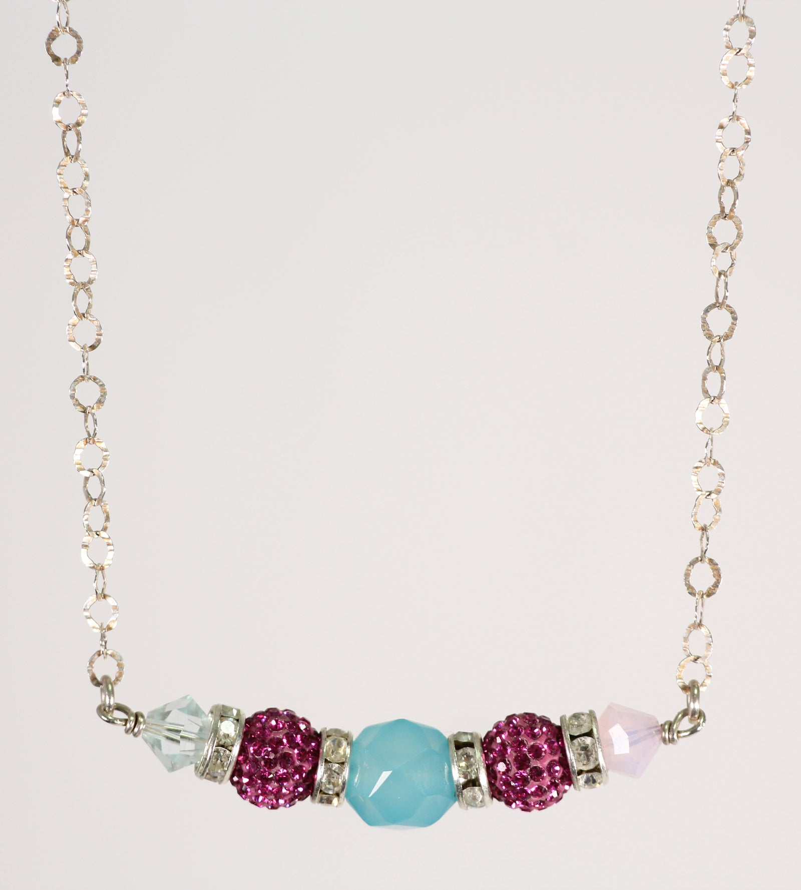 Sparkle Ball Crystal Necklace