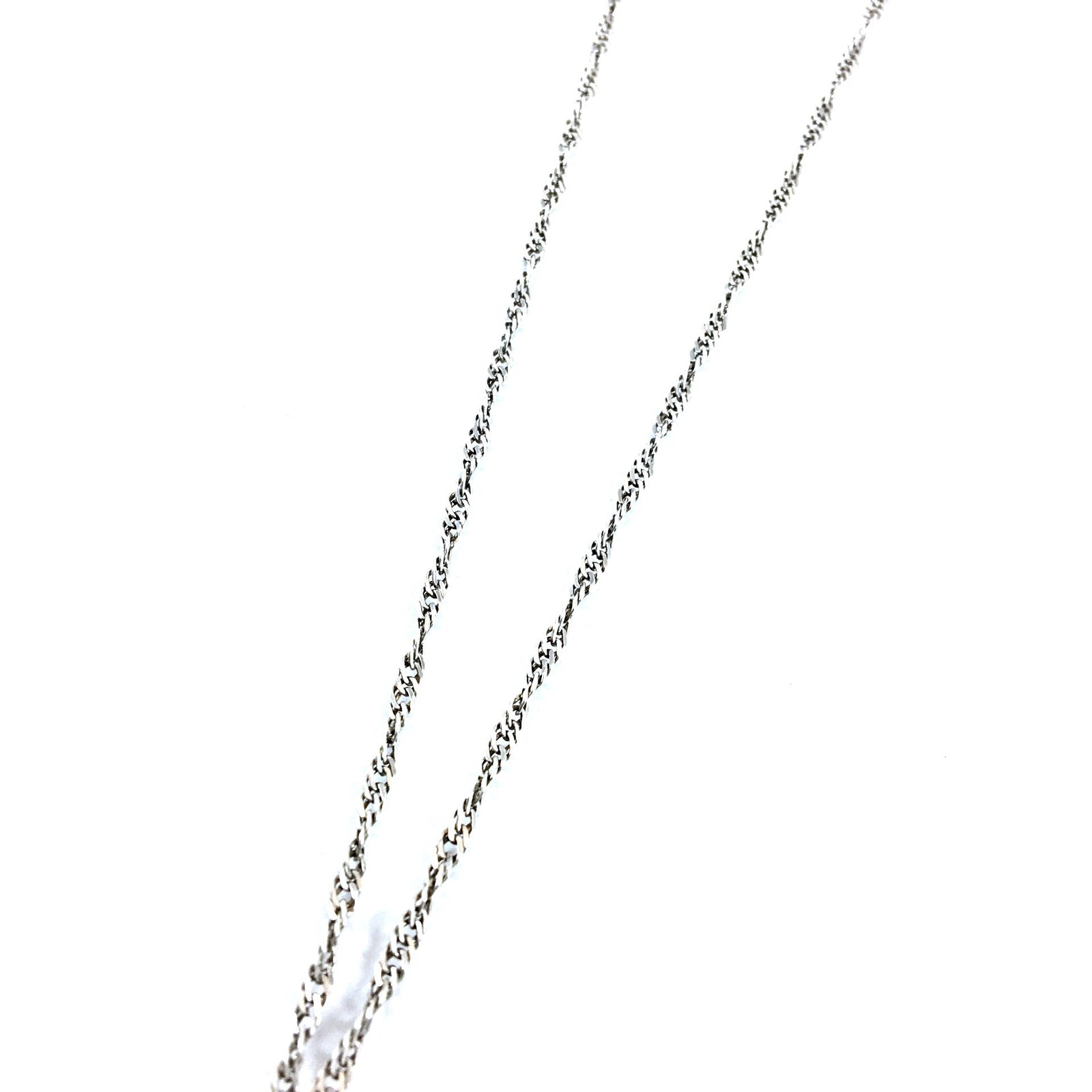 Lariat Large Crystal Pendant Necklace