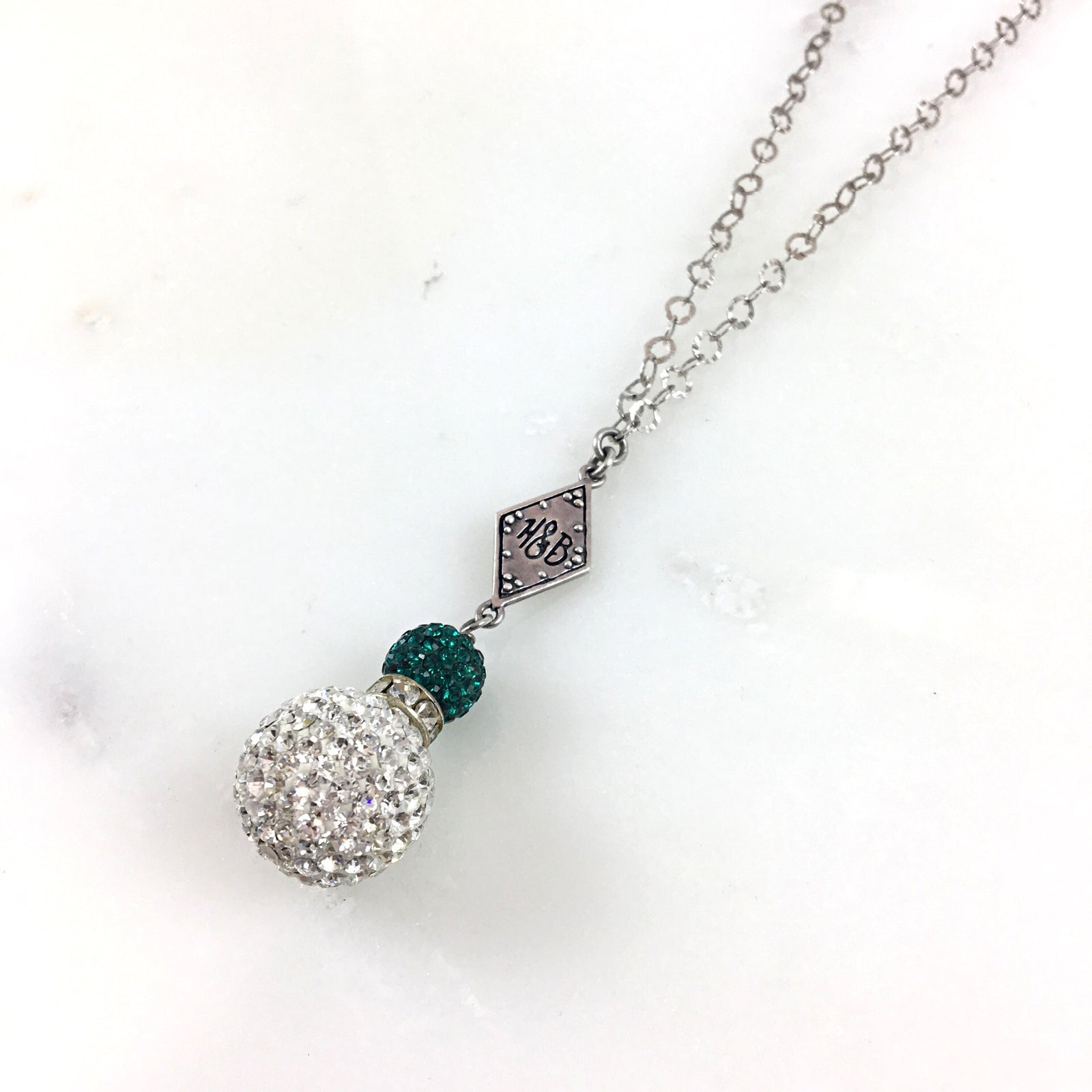 Riders Green Necklace