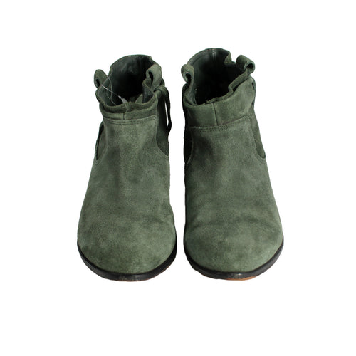 Green Ankle Boots