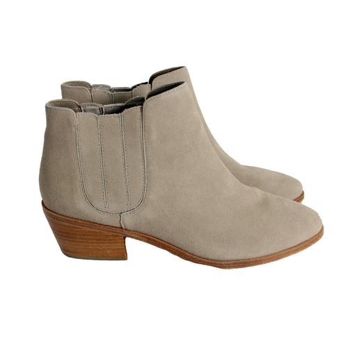 Grey Ankle Boots