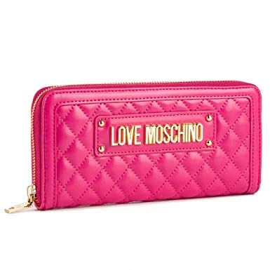 Pink Quilted Wallet