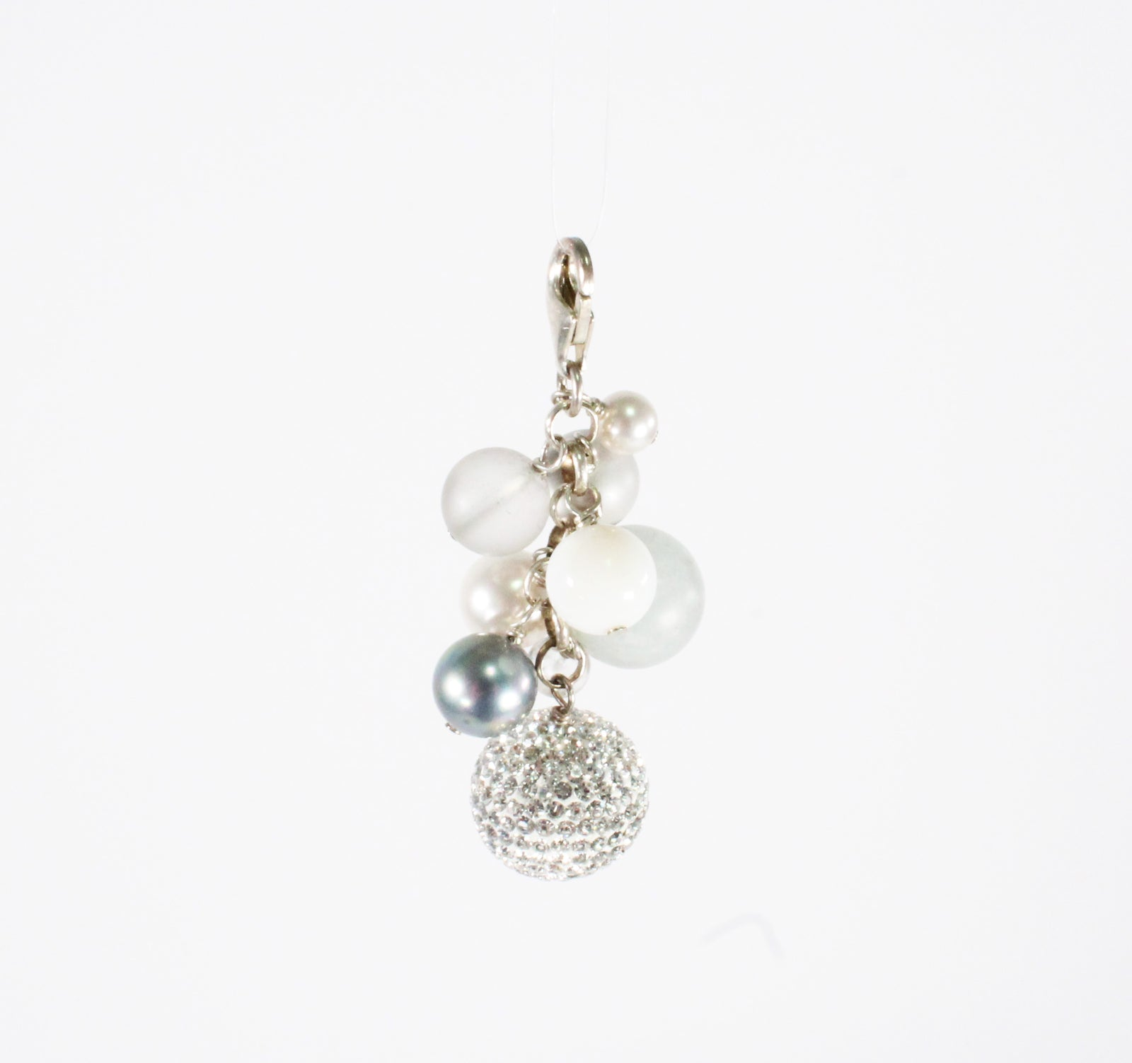 Cluster Sparkle Ball Pendant
