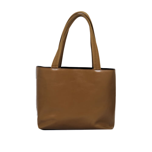Brown Leather Small Tote