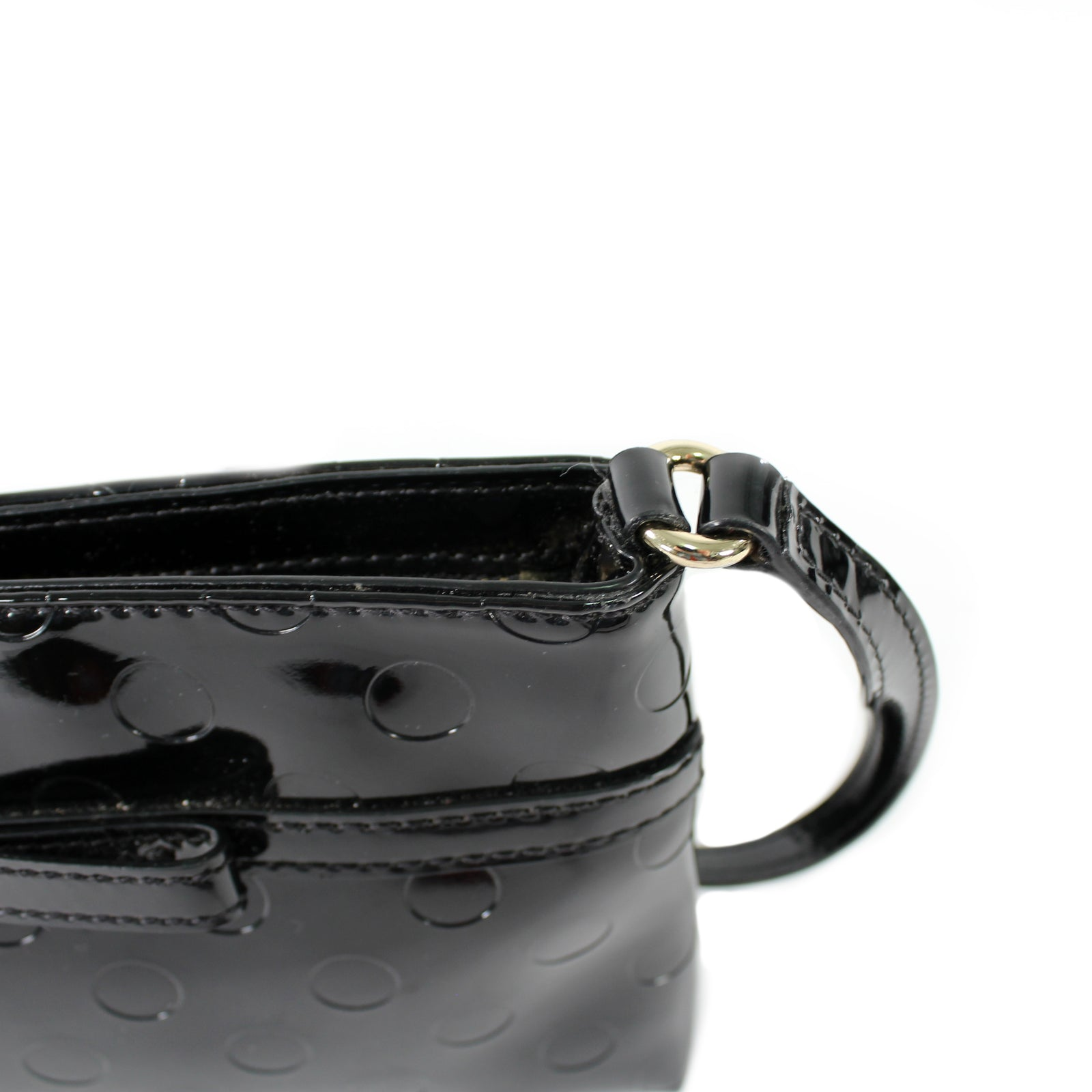Mini Patent Crossbody