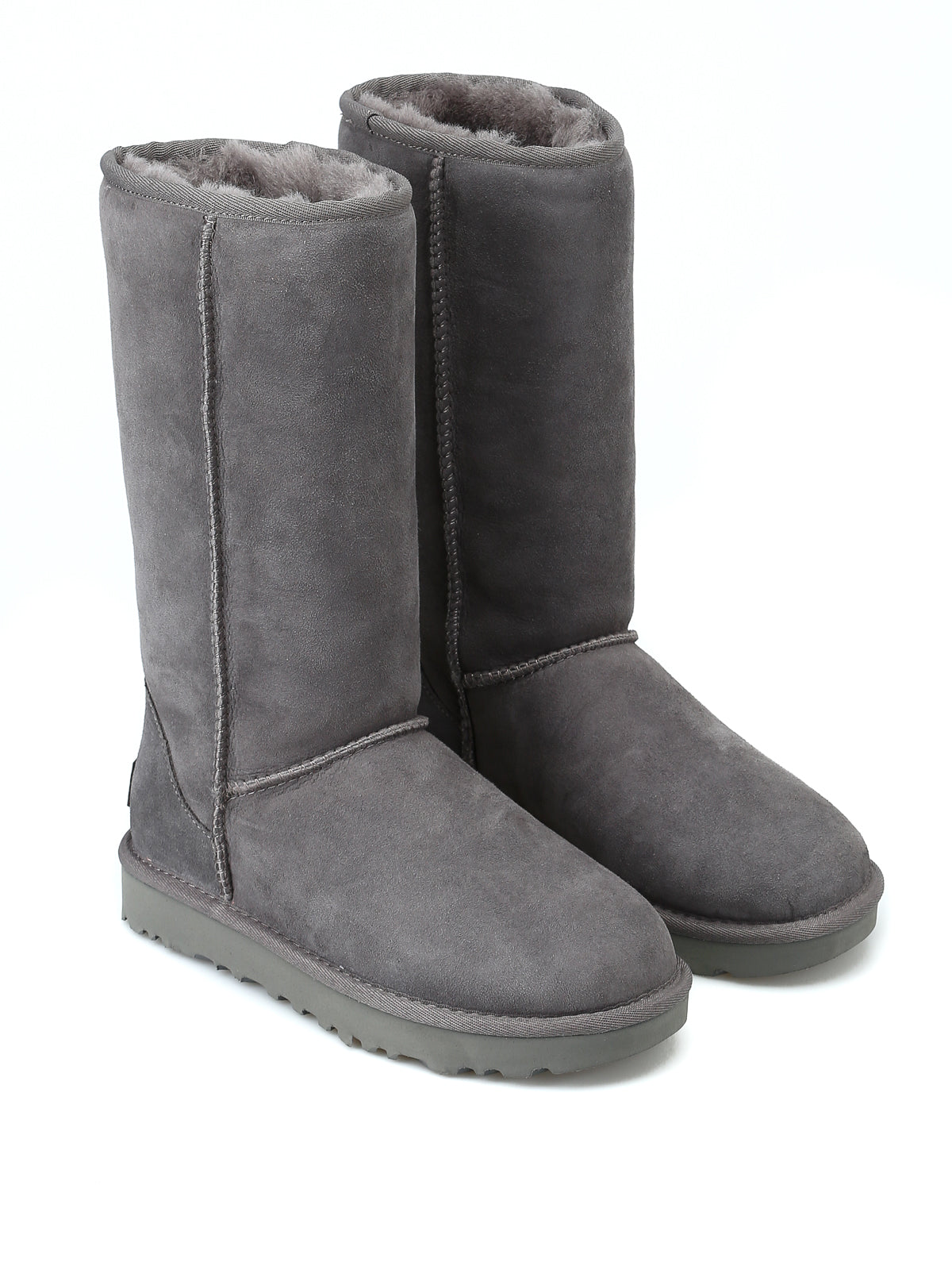Classic Tall Grey Boots