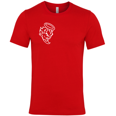 Limited Edition Printed Devil Head TShirt