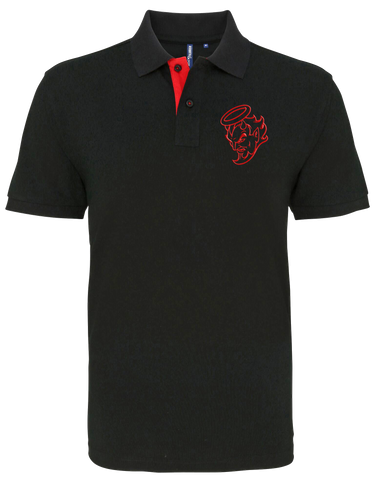 Red Devil Polo Shirt