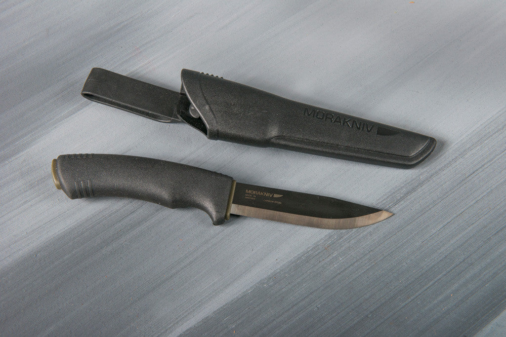 Mora Bushcraft Black knife