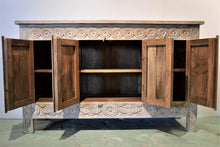 Ornate Carved Sideboard