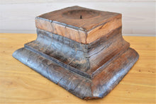 Wooden Candle Stand | Square