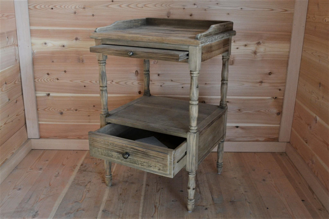 French Country Nightstand