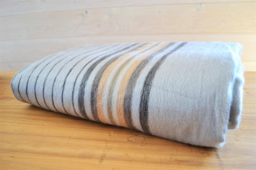 Alpaca Blanket Stripe Silver - DemXx Online - luxurious, fair trade, home decor, gifts