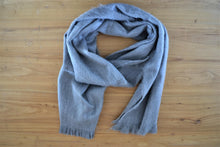 Alpaca Scarf Grey - DemXx Online - luxurious, fair trade, home decor, gifts