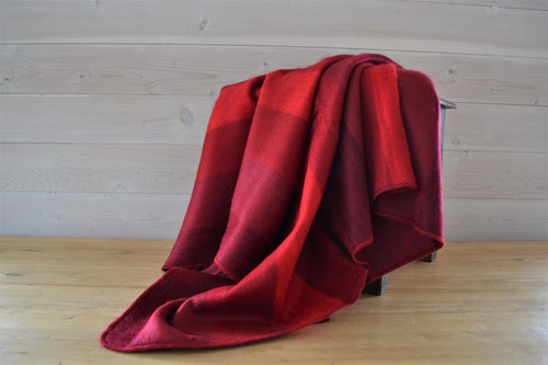 Alpaca Throw Ruby - DemXx Online - luxurious, fair trade, home decor, gifts