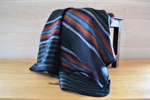 Alpaca Throw Liquorice - DemXx Online - luxurious, fair trade, home decor, gifts