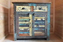 Reclaimed Cabinet with Shutters - DemXx Online - Colour Distressed