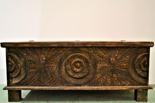 Authentic Blanket Box | Hand Carved