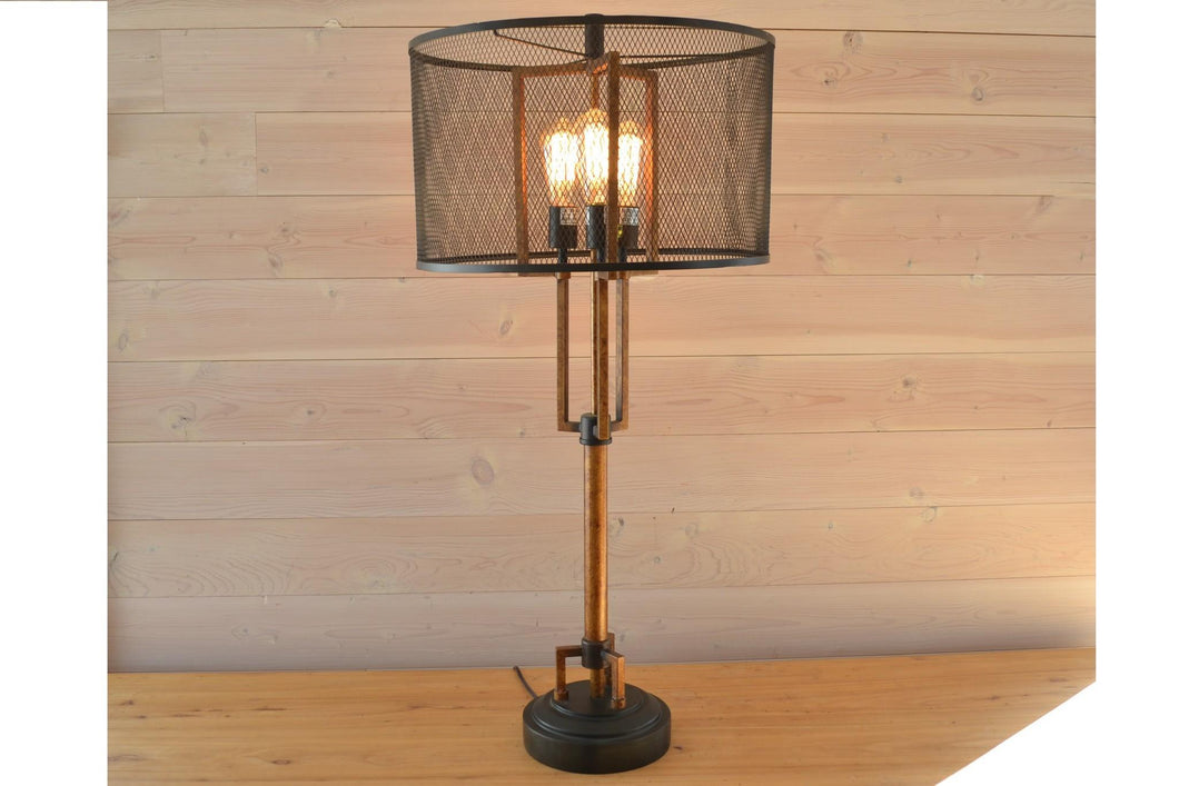 Metal Winchester Table Lamp