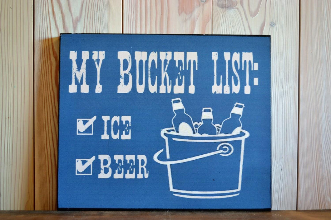 Sign | Bucket List