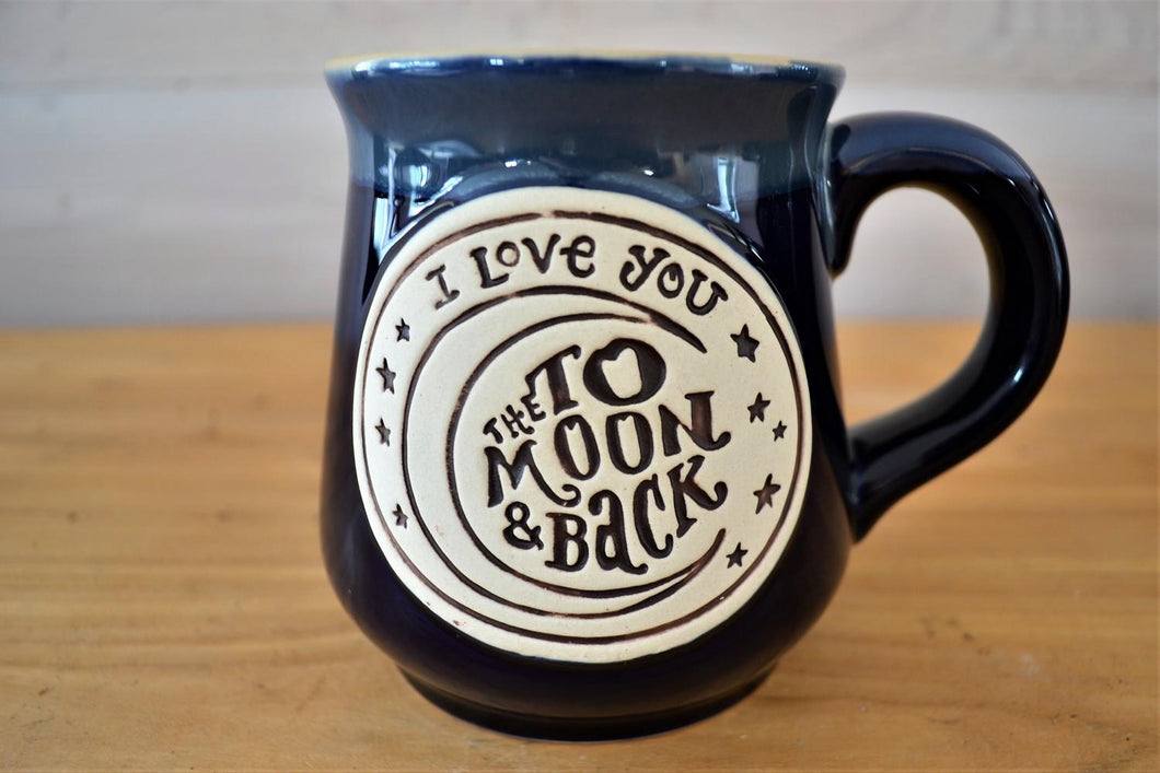 Ceramic Mug | I Love You to the Moon