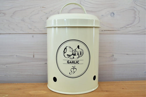 Storage Tin | Garlic