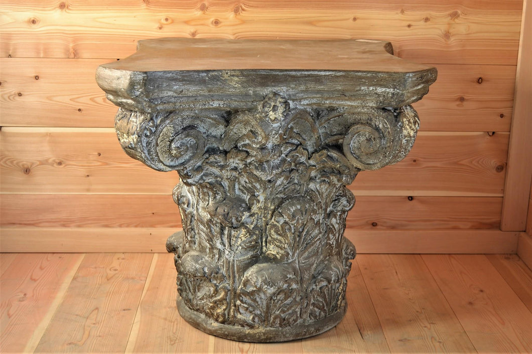 Accent Table | Carved