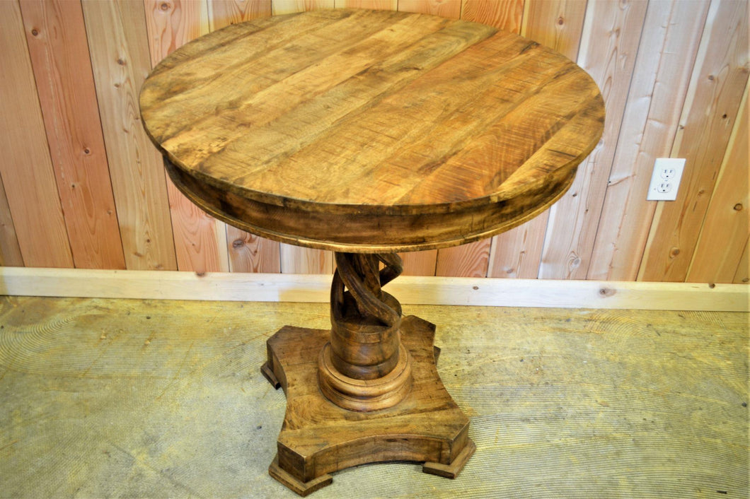 Mango Wood Twist Table - DemXx Online