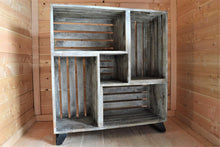 Mango Wood Crate Cabinet