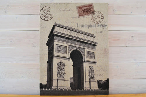 Canvas Print | Arc de Triomphe