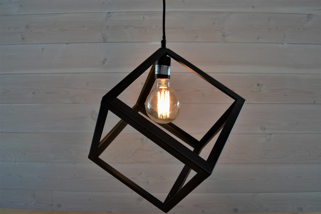 Pendant Light | Metal Box
