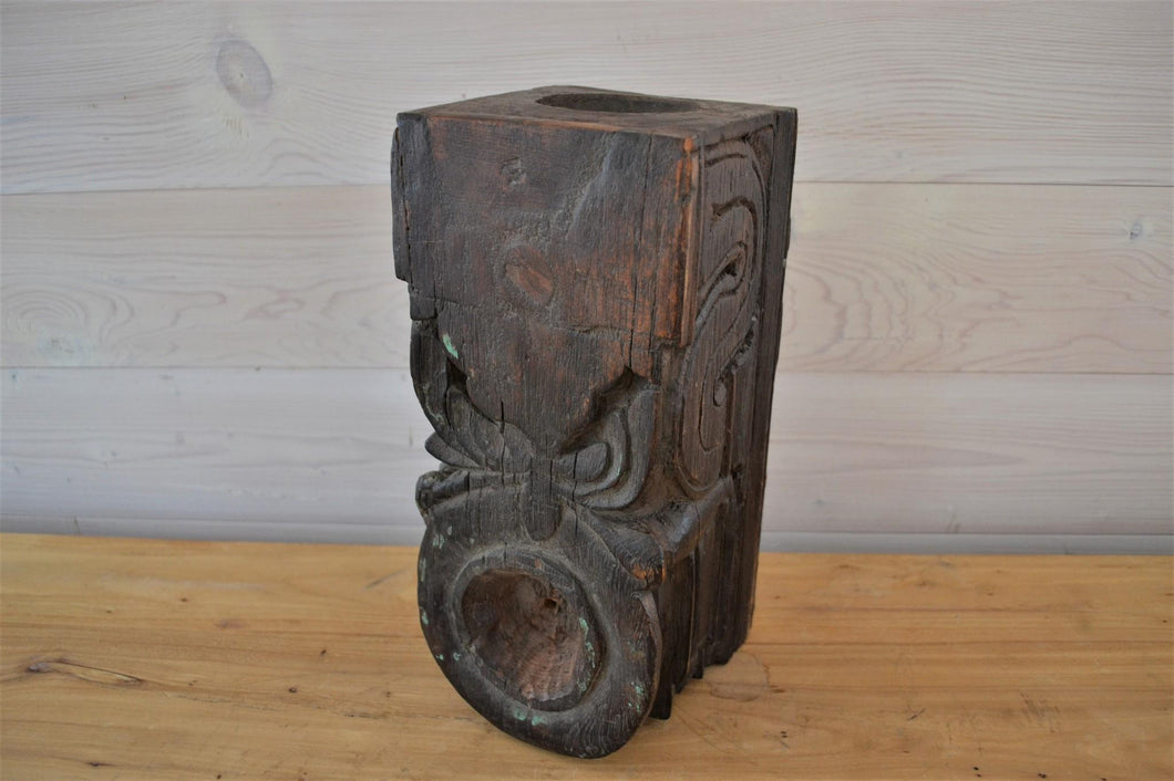 Carved Candle Stand
