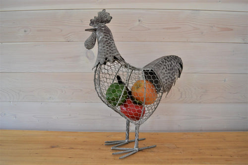 Wire Rooster Egg Holder