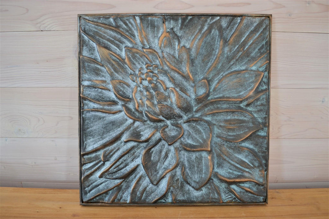Metal Wall Décor | Patina Lotus