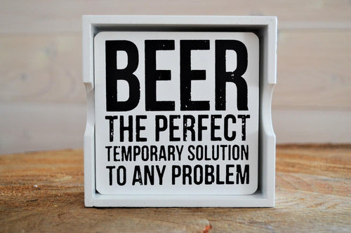 Beer Coasters | 4 Assorted