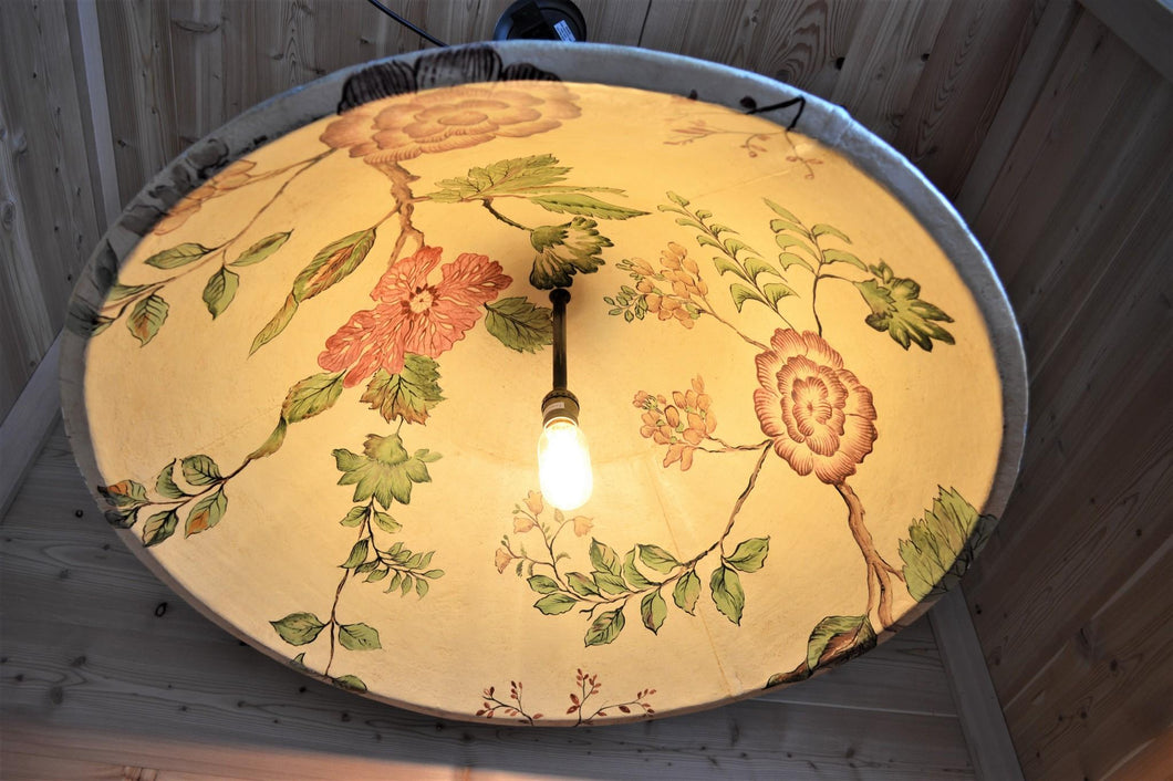 Tin Ceiling Floral Light | Small