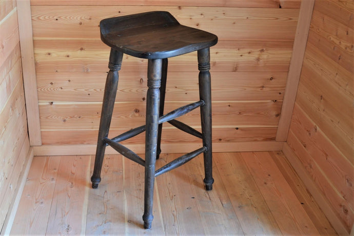 Mahogany Farmhouse Bar Stool - DemXx Online